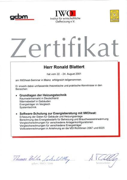 2001-08-24 IWOheat-Seminar mit Heizungstechnik und Energieberatung (Kopie)