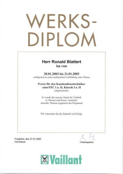 2003-01-21 Praxis für den Kundendiensttechniker atmoTEC I u II, Klassik I u II (Kopie)