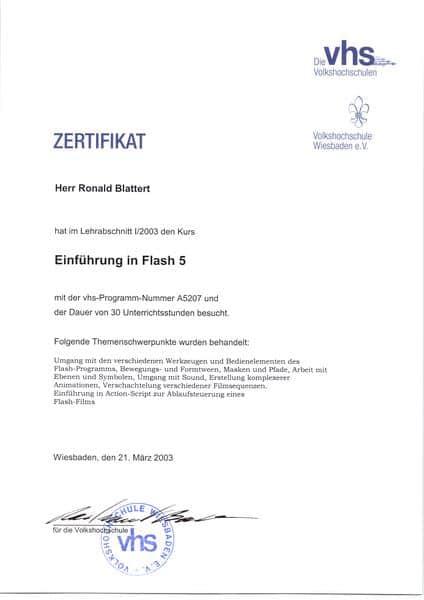 2003-03-21 Einführung in Flash 5 (Kopie)