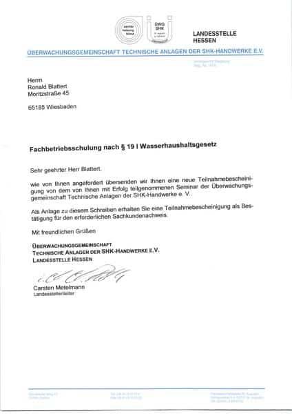 2004-03-15 Fachbetriebsschulung nach Wasserhaushaltsgesetz2 (Kopie)