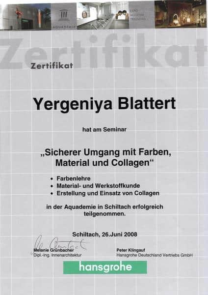 2008-06-26 Sicherer Umgang mit Farben, Material und Collagen - Blattert, Yevgeniya (Kopie)