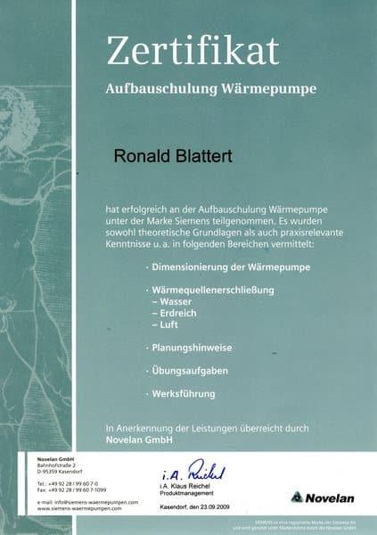 2009-09-23 - Wärmepumpen Aufbauseminar (Kopie)
