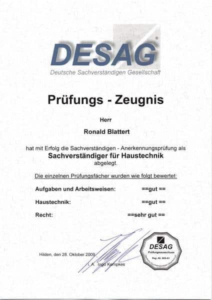 2009-10-28 Sachverständigerfür Haustechnik Noten (Kopie)