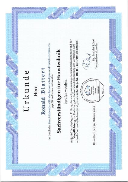 2009-10-30 Sachverständigen für Haustechnik (Kopie)