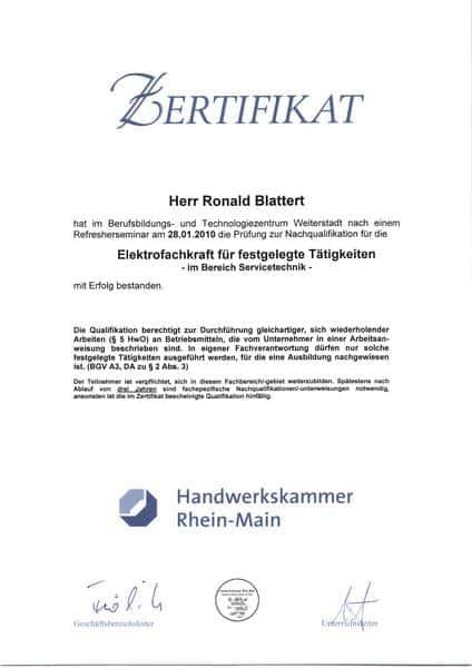 2010-01-28 Ekekrtofachkraft für festgelegte Tätigkeiten im Bereich Servicetechnik (Kopie)