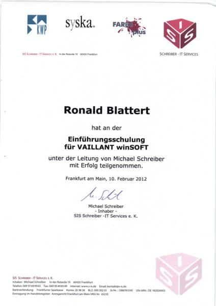 2012-02-10 Einführungsschulung für Vaillant winSOFT (Kopie)
