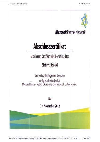 2012-11-19 Microsoft Partner Network Abschlusszertifikat (Kopie)