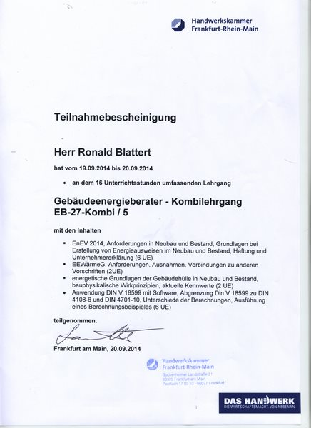 2014-09-20 Gebäudeenergierberater - Refreshkurs (Kopie)