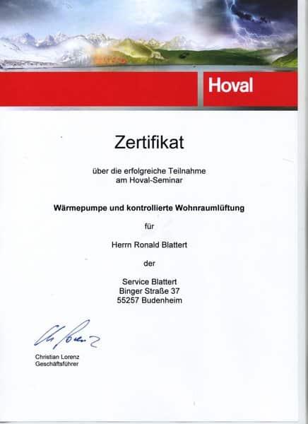 2014-09-26 HOVAL - Wärmepumpen und kontrollierte Wohnraumlüftung (Kopie)