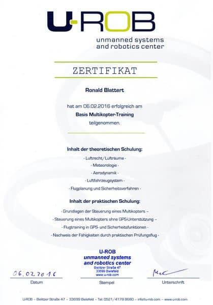 2016-02-06 U-ROB Drohnen, Multikopter Trainig und Prüfung - Blattert, Ronald (Kopie)