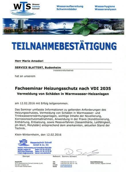 2016-02-12 WTS - Heizungsschutz nach VDI 2035 - Amadori, Mario (Kopie)