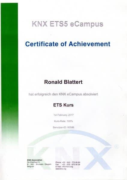 2017-02-01 KNX ETS5 eCampus - Ronald Blattert (Kopie)