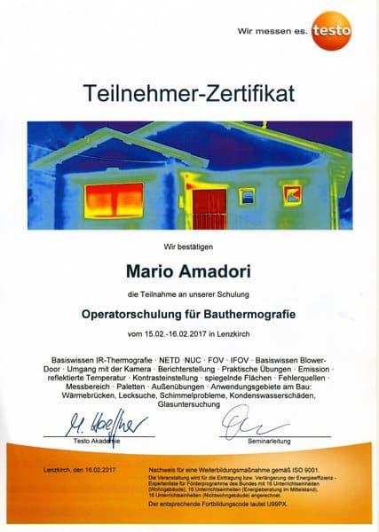 2017-02-15 TESTO - Operatorschulung für Bauthermografie - Mario Amadori (Kopie)
