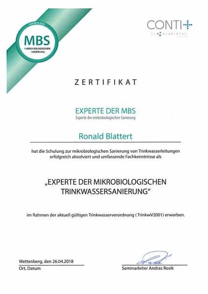 2018-04-26 CONTI - Experte der mircobiologischen Trinkwasser-Sanierung - Blattert, Ronald (Kopie)