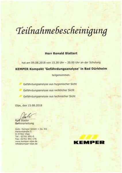 2018-05-09 KEMPER Kompakt - Gefährdungsanalyse - Blattert, Ronald (Kopie)