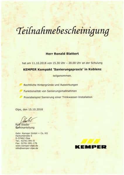 2018-10-11 KEMPER Kompakt - Sanierungspraxis - Blattert, Ronald (Kopie)