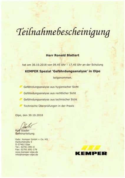 2018-10-30 KEMPER Spezial - Gefährdungsanalyse - Blattert, Ronald (Kopie)