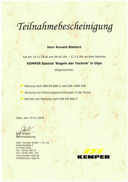 2018-11-19 KEMPER Spezial - Regeln der Technik - Blattert, Ronald (Kopie)