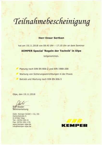 2018-11-19 KEMPER Spezial - Regeln der Technik - Sertkan, Ensar (Kopie)