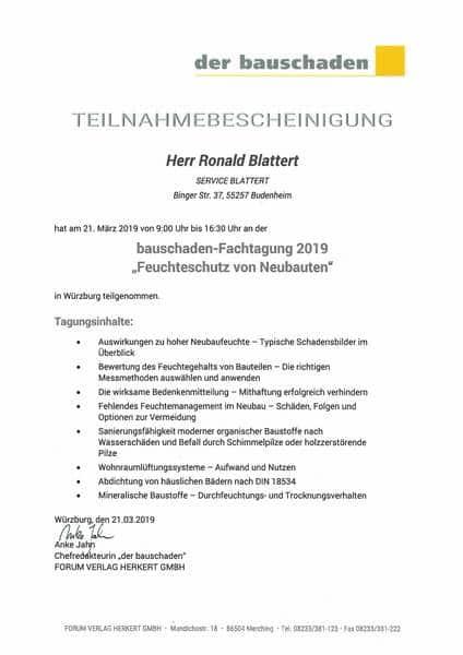 2019-03-21 Feuchteschutz von Neubauten - Blattert, Ronald (Kopie)