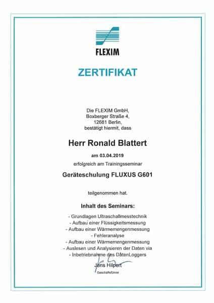 2019-04-03 FLEXIM - FLUXUS G601 - Blattert, Ronald (Kopie)